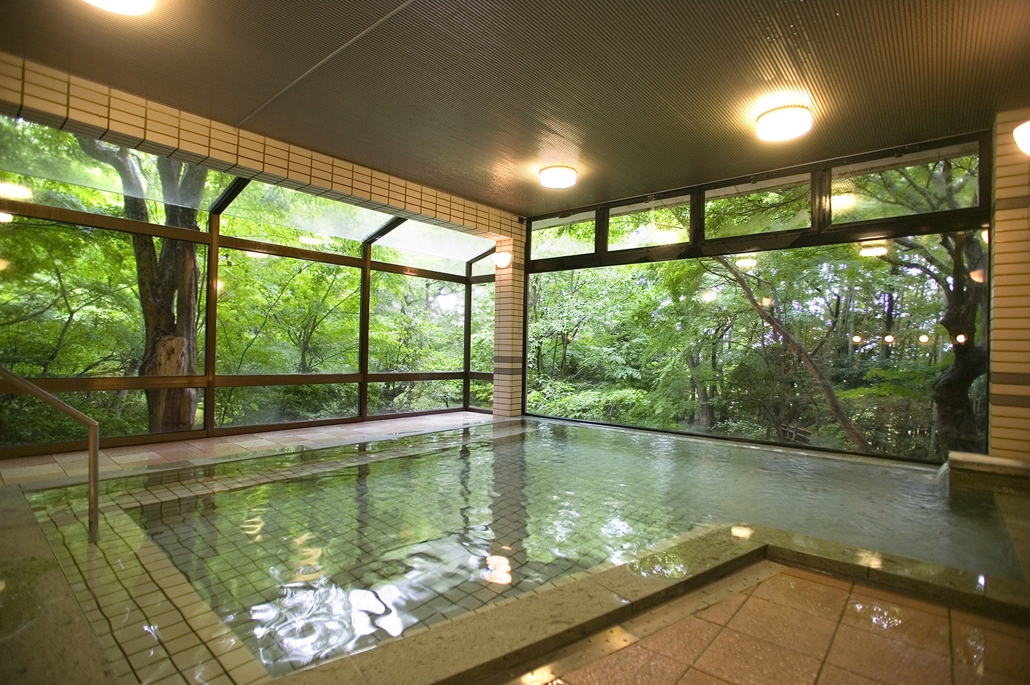 3 Hot spring (Communal bath) (8)_VillegaMag_Masae_Hara_for_Beniya_Mukayu_Japan