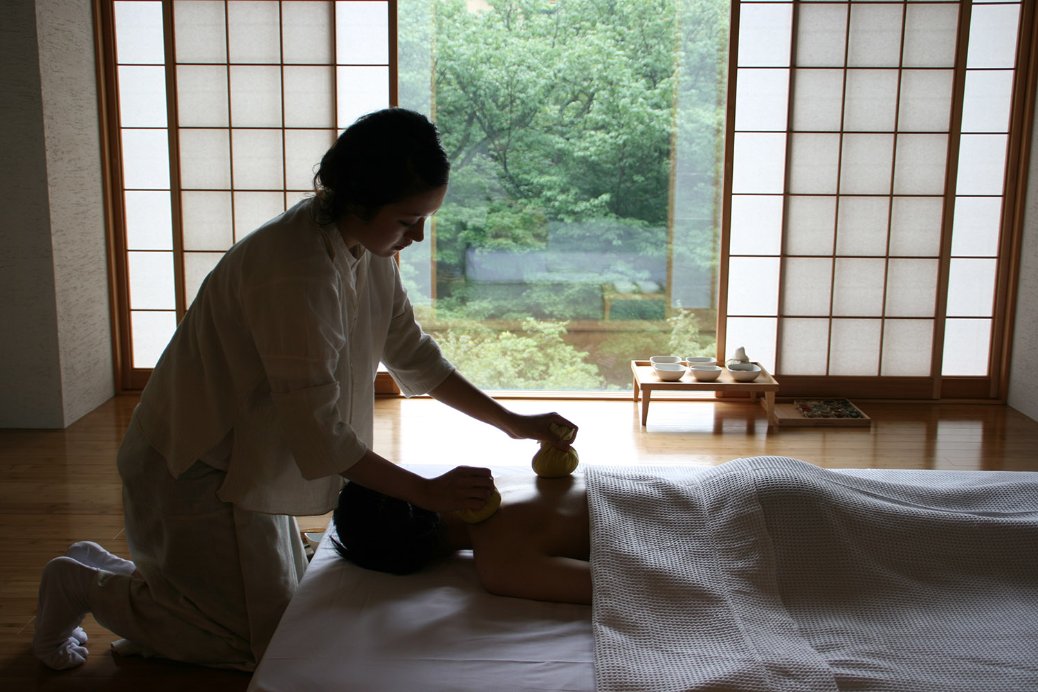 Spa treatment area[Entei] (4)_VillegaMag_Masae_Hara_for_Beniya_Mukayu_Japan