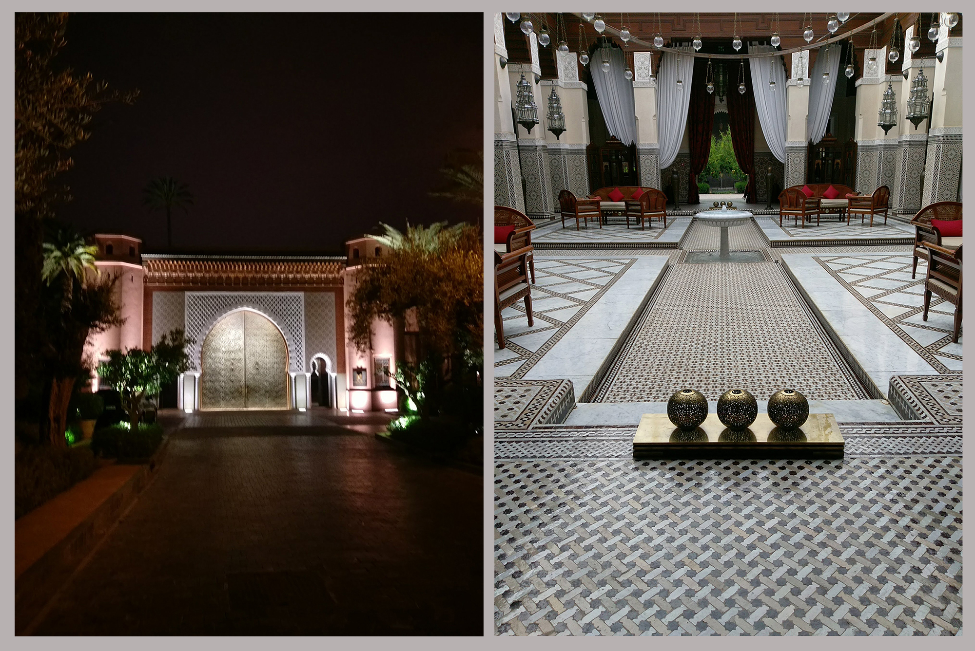 Royal Mansour  : Grand Prix winner of Best Hotel in Africa at Villégiature 2015 and 2018 editions