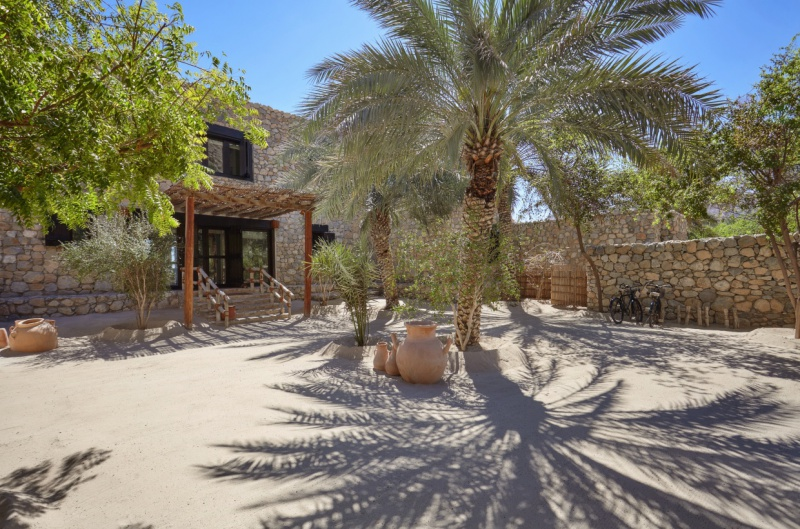 Live your Arabian nights dream in a traditional village-style villa at Six Senses Oman.